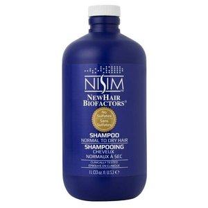 Nisim Shampoo geschikt voor normaal tot droog haar - Sulfaat- en parabeenvrij - 1 liter