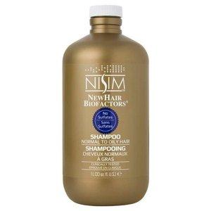 Nisim Shampoo geschikt voor normaal tot vet - Sulfaat- en parabeenvrij - 1 liter - Genoeg voor 3 maanden dagelijks gebruik