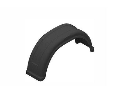 Anhängerkotflügel aus Kunststoff für Einachsanhänger rund