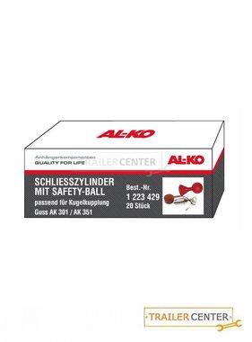 AL-KO AL-KO Schließzylinder mit Safety-Ball für Kugelkupplung AK 301 / AK 351 • Verpackungseinheit 20 Stück