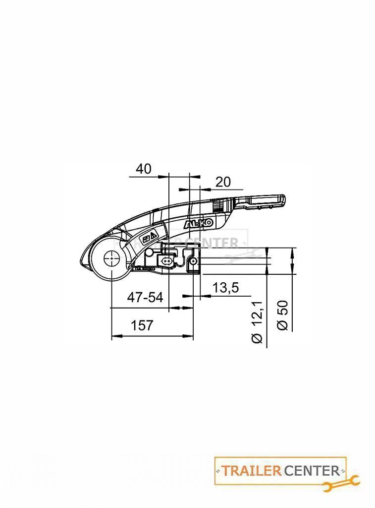 AL-KO AL-KO Sicherheitskupplung AKS 3004 mit Stabilisierungseinrichtung • 50mm rund