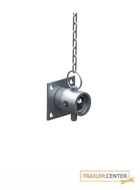 AL-KO AL-KO Kit di fissaggio piedino di stazionamento 70mm quadro • girevole di 90° fino a 1200kg