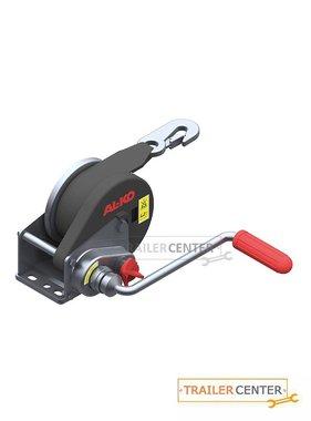 AL-KO Seilwinde gebremst BASIC 450 A mit Abrollautomatik und 6m Band zum Schleppen bis 450kg