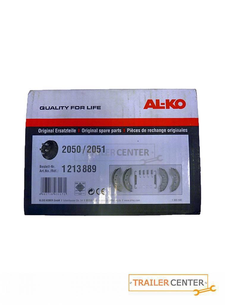 AL-KO Original AL-KO Bremsbackensatz 200x50 für AL-KO Radbremsen Typ 2050 und 2051