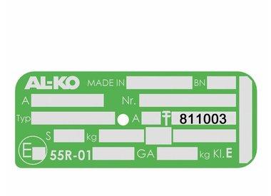 Ersatzteile für AL-KO Radbremse 2361 – 811003