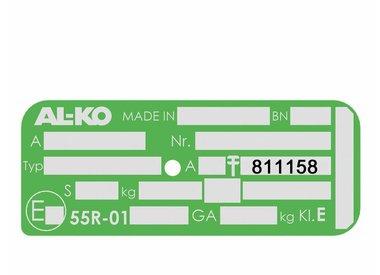 Ersatzteile für AL-KO Radbremse 2051 - 811158