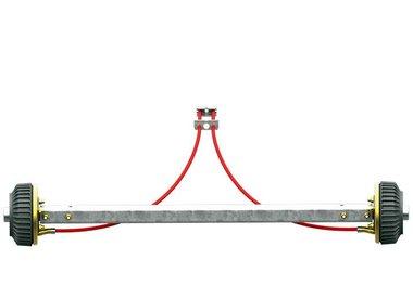 Assali rigidi frenati fino a 1500kg tipo BS 1500