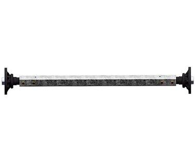 Assali rigidi sfrenati fino a 1800kg tipo BS 1800