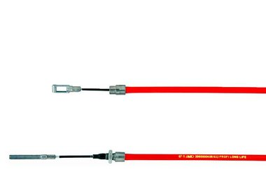 Bowdenzüge Radbremse Ausführung 1625-2361 - mit Öse und Gewinde M8
