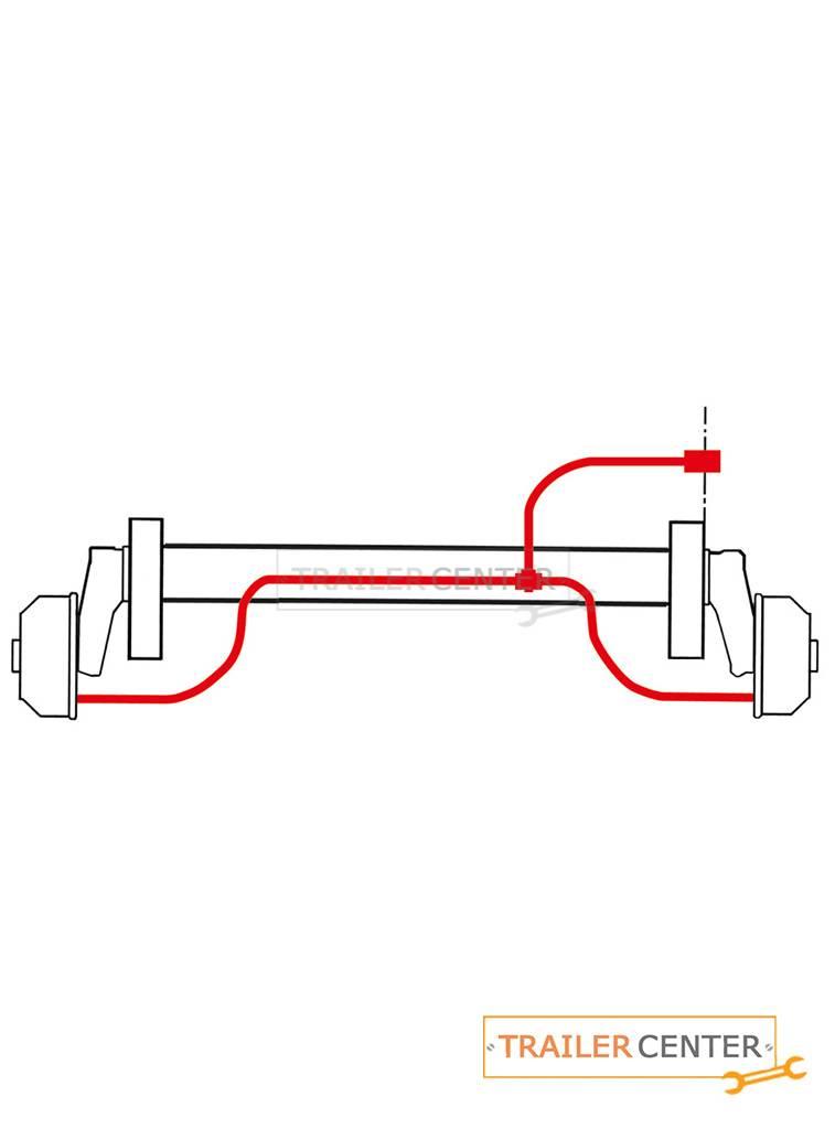AL-KO AL-KO Radbremsenspülsystem Einzelachse