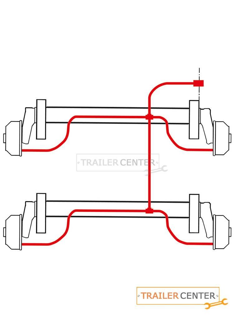 AL-KO AL-KO Radbremsenspülsystem Tandem