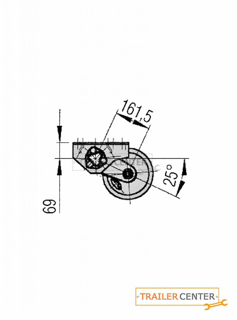 AL-KO AL-KO Assale per rimorchi frenati • tipo B 1200-6 • fino a 1350kg • foratura 140x5