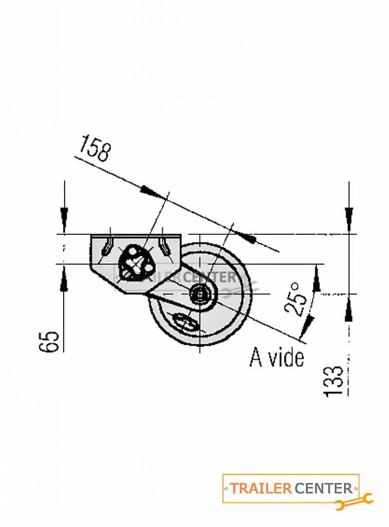 AL-KO AL-KO Assale per rimorchi frenati • tipo B 850-5 • fino a 900kg • foratura 130x4