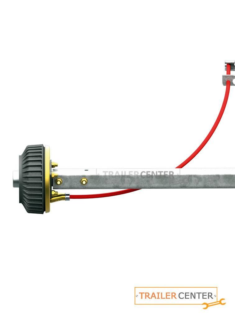 AL-KO Starrachse für gebremste Anhänger • Typ BS 1500 • bis 1500kg • Radanschluss 100x4