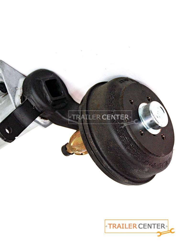 BPW BPW Achse für gebremste Anhänger • Typ CB 1054 • bis 1050kg • Radanschluss 100x4