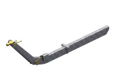 Timone regolabile in altezza fino a 1100kg