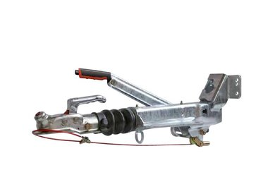 Auflaufbremsen mit V-Anschluss und Stützradhalter