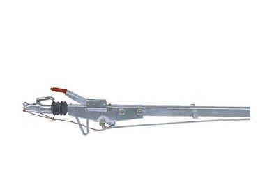 Freni a repulsione attacco quadro con timone diritto fino a 750kg