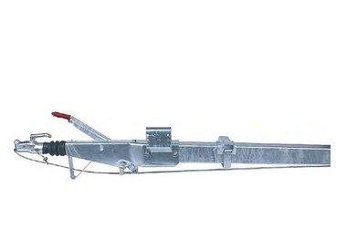 Freni a repulsione attacco quadro con timone diritto fino a 2600kg