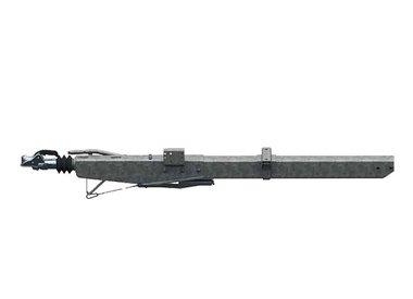 Freni a repulsione attacco quadro con timone diritto fino a 3500kg