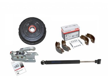 Ersatzteile für Auflaufbremsen und Radbremsen