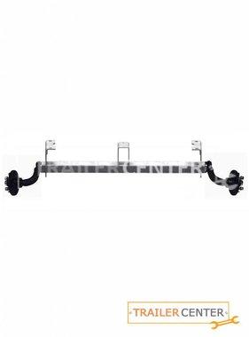 AL-KO AL-KO Achse für ungebremste Anhänger mit Bügel und hohem Achsbock • Typ UBR 700-5 • bis 750kg • Radanschluss 100x4 (alte Version)