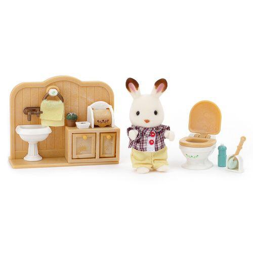 Sylvanian Families Sylvanian Families Chocolade Konijn Toilet Set