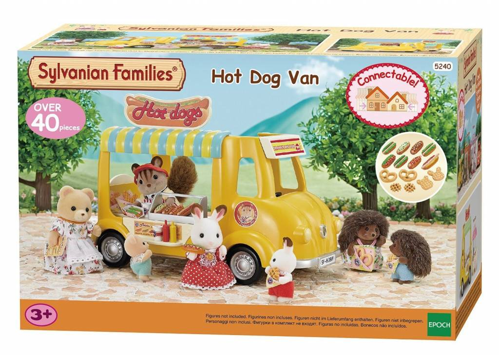 Sylvanian Families Sylvanian Families Hot Dog Kraam