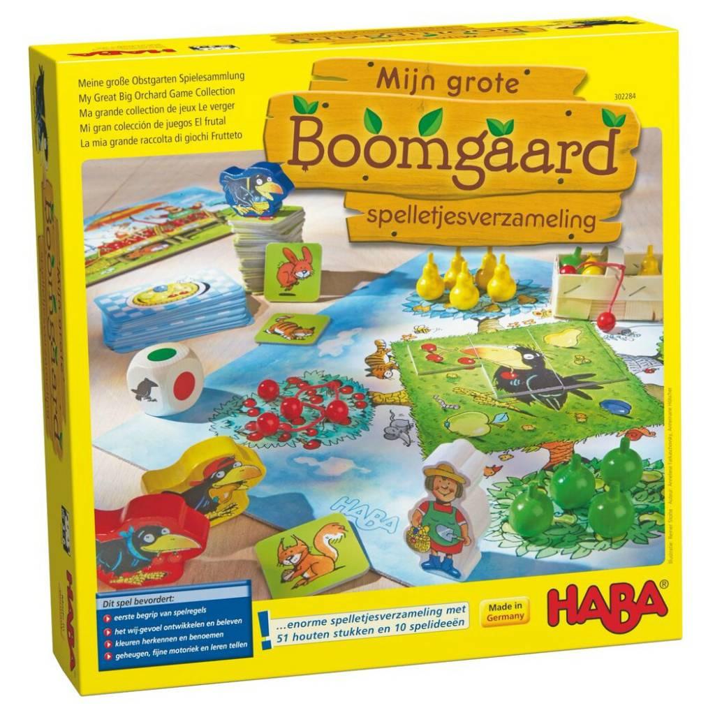 HABA Haba Mijn grote Boomgaard spelletjesverzameling