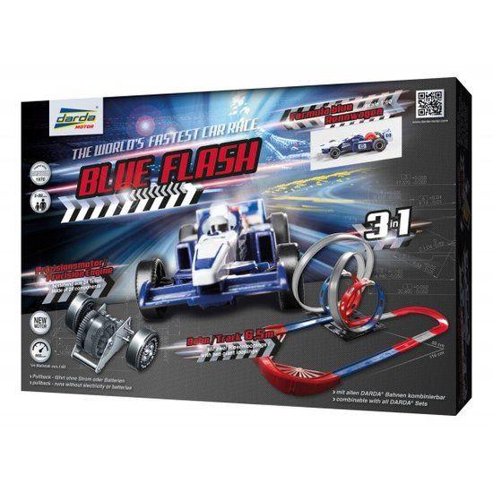 Darda Racebaan Blue Flash