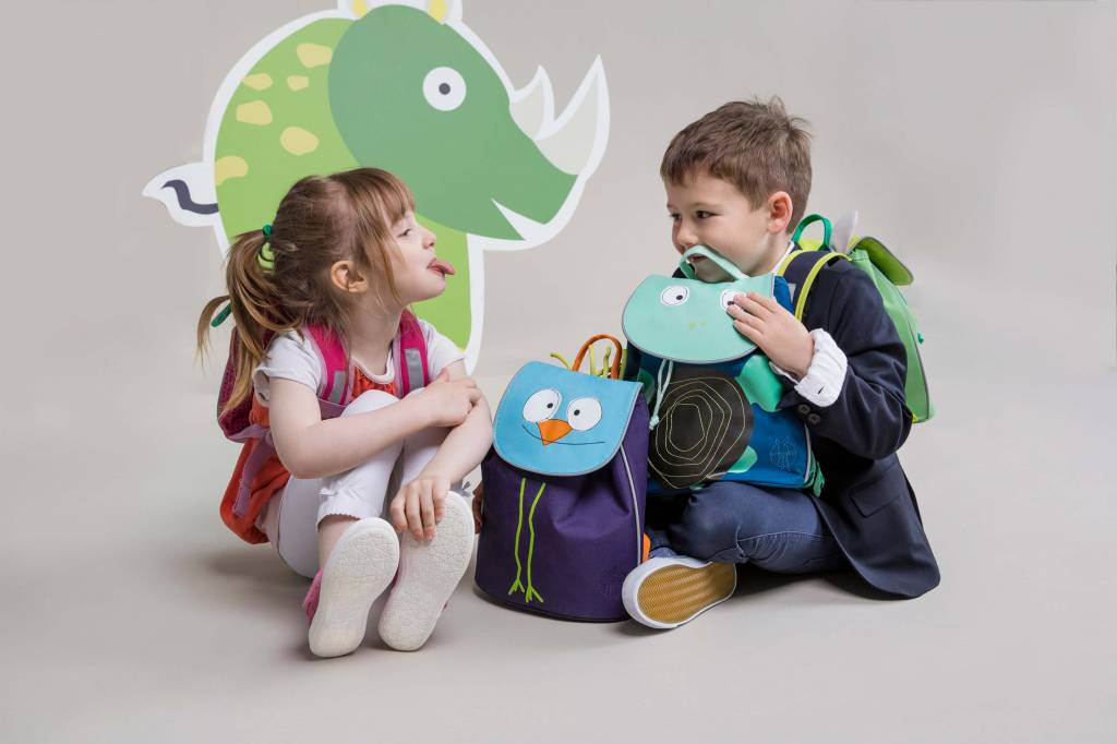 Laessig Rugzak 'Mini Duffle Backpack, Wildlife Birdie'