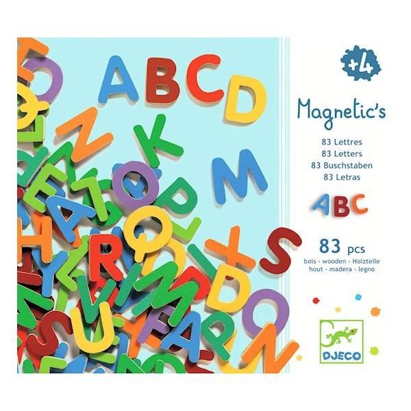 Djeco Djeco magnetische letters (hoofdletters)