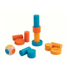 Plantoys Plantoys spelletje in blik: Stacking Game