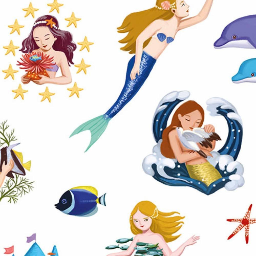 Djeco Djeco zeemeerminnen stickers