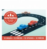 Waytoplay Waytoplay Flexibele autobaan - 12 delen