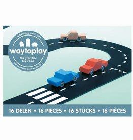 Waytoplay Waytoplay De flexibele autobaan - 16 delen