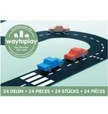 Waytoplay Waytoplay De flexibele autobaan - 24 delen