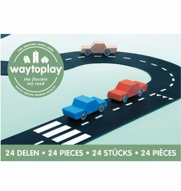 Waytoplay Waytoplay Flexibele autobaan - 24 delen
