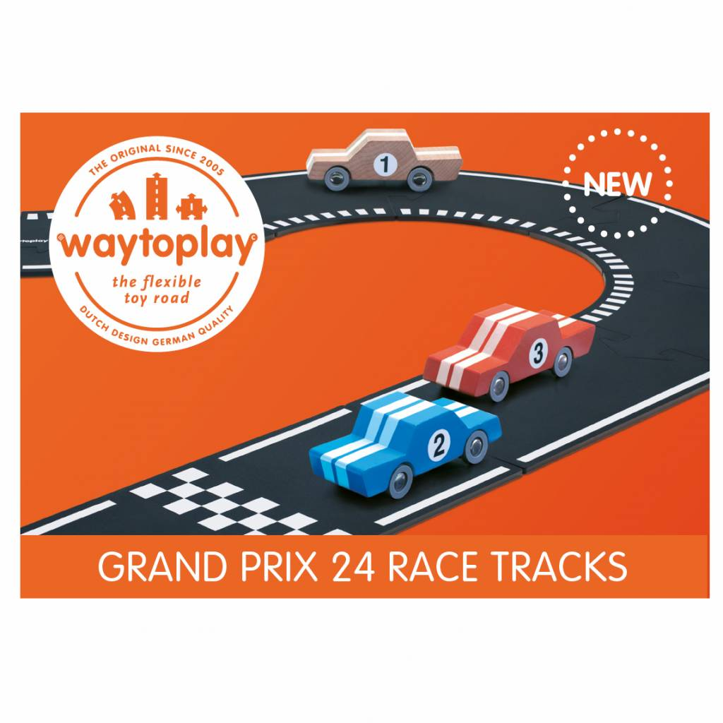 Waytoplay Flexibele autobaan - Grand Prix