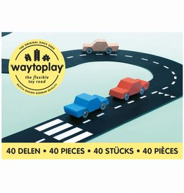 Waytoplay Flexibele autobaan - King of the road