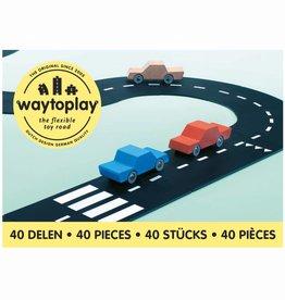 Waytoplay Waytoplay Flexibele autobaan - King of the road