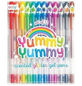 Yummy Yummy Glitter Geur Gel Pennen