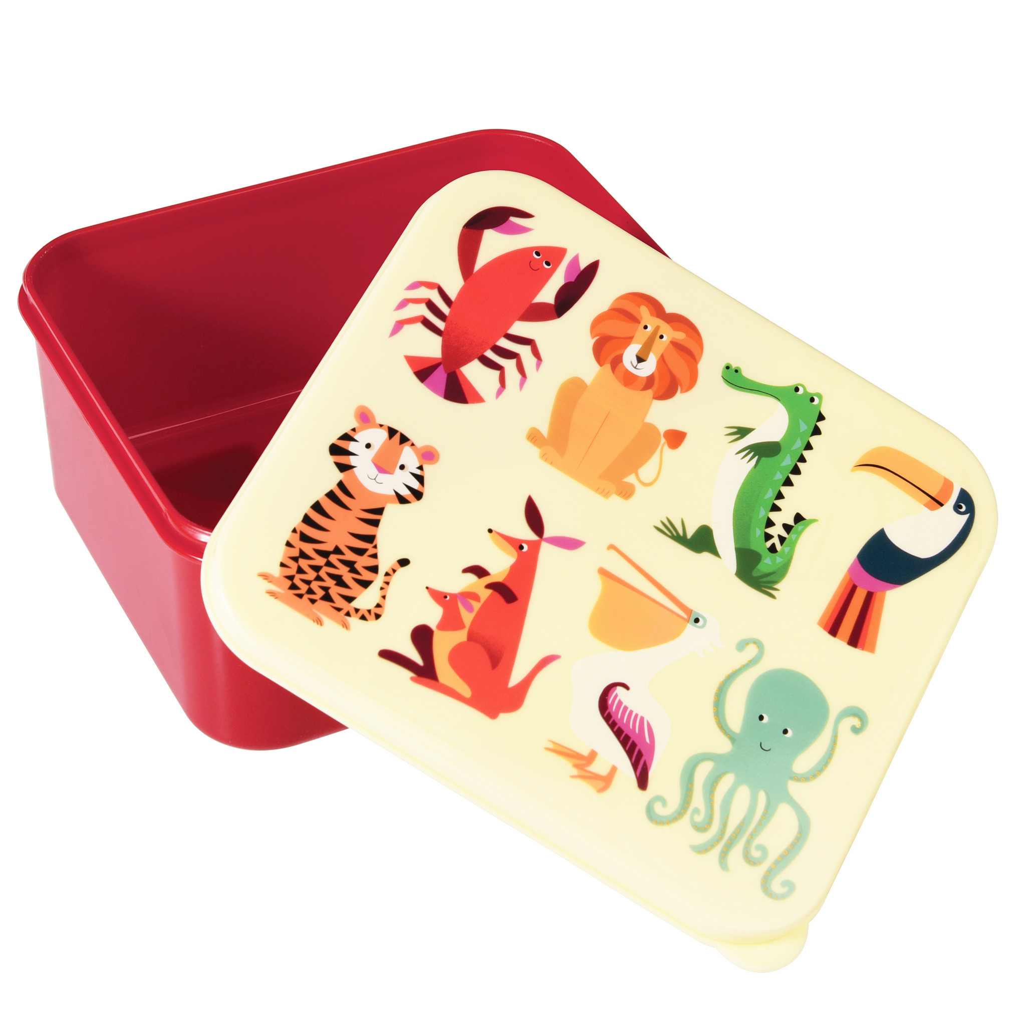Lunchbox Dieren