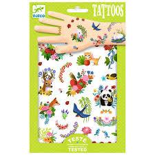 Djeco Djeco Tatoeages Happy Spring