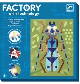 Djeco Djeco Kunst en Technologie: Lichtkaarten 'Insecten'