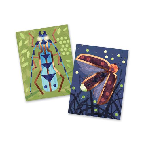 Djeco Factory Lichtkaarten  'Insecten'