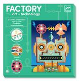 Djeco Factory Lichtkaarten  'Cyborgs'