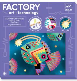 Djeco Factory Lichtkaarten  'Diepzee'