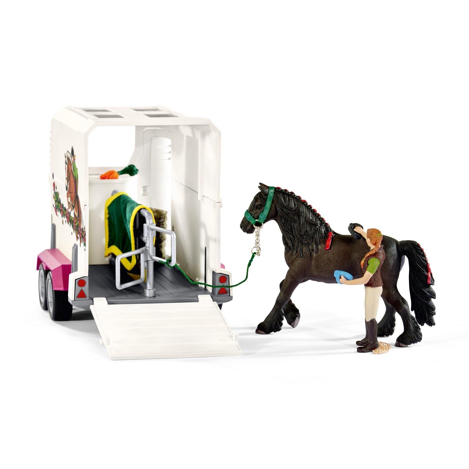 Schleich Schleich Horse Club - Pickup met paardentrailer