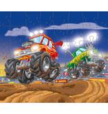 3 Haba puzzels 'Motorsport' 5+ (48 stuks)